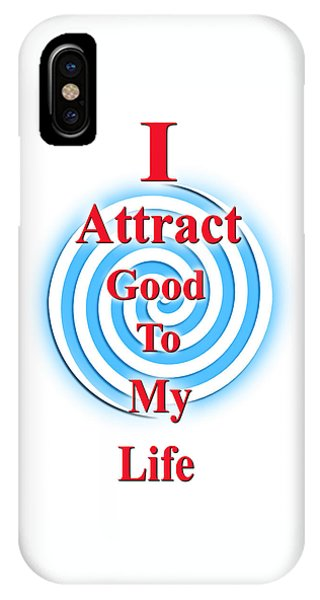 I Attract Red White Blue IPhone Case