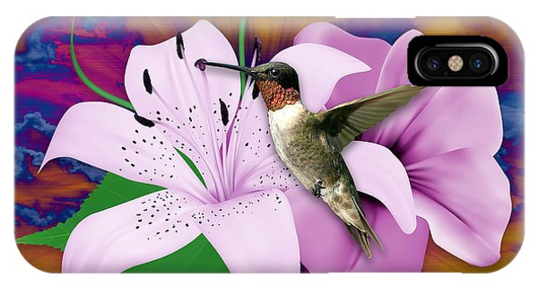 Hummingbird iPhone Case - I Believe I Can Fly by Marvin Blaine