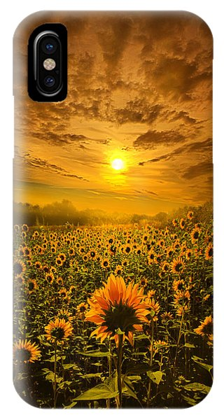 I Believe In New Beginnings IPhone Case