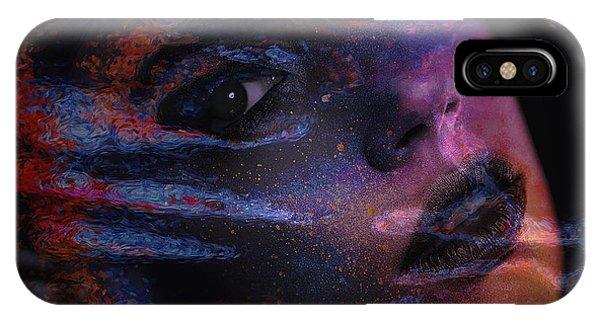 I Breathe Art Therefore I Am Art IPhone Case