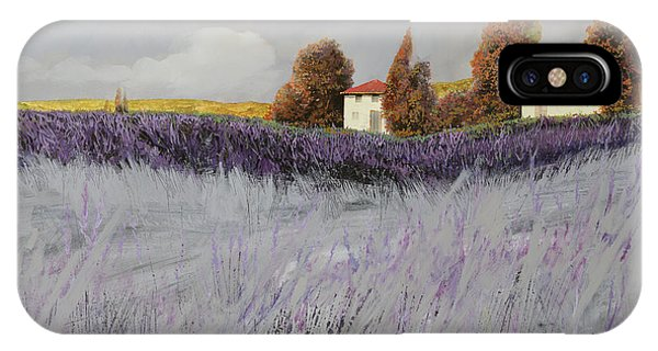 House iPhone Case - I Campi Di Lavanda by Guido Borelli