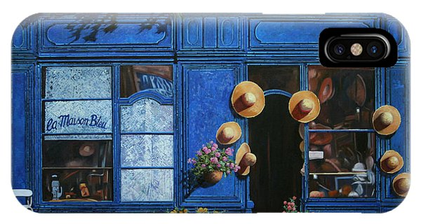 Provence iPhone Case - I Cappelli Gialli by Guido Borelli