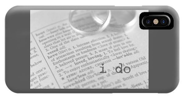 I Do IPhone Case