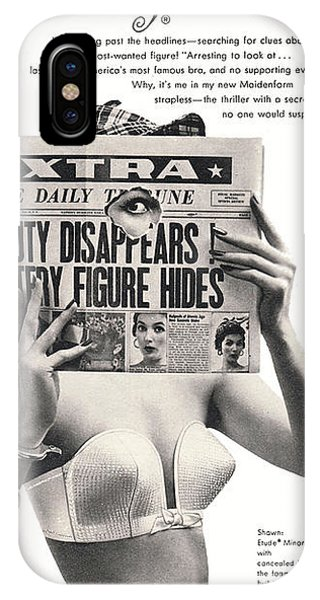 I Dreamed I Was  Private Eye In My Maidenform Bra IPhone Case