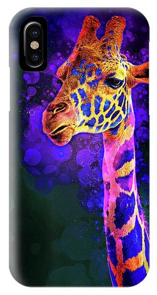 I Dreamt A Giraffe IPhone Case