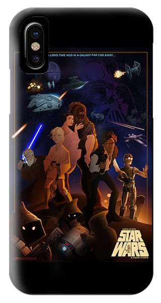 I Grew Up With Starwars IPhone Case