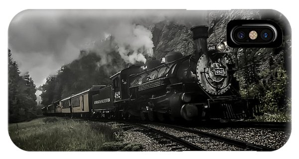 I Hear The Train A Comin' IPhone Case