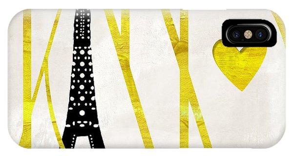 Paris iPhone Case - I Love Paris by Mindy Sommers