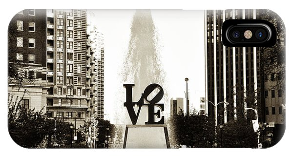 I Love You iPhone Case - I Love Philadelphia by Bill Cannon