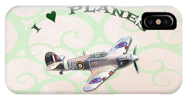 I Love Planes - Hurricane IPhone Case