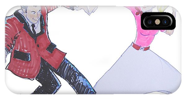 I Love Rock 'n' Roll IPhone Case