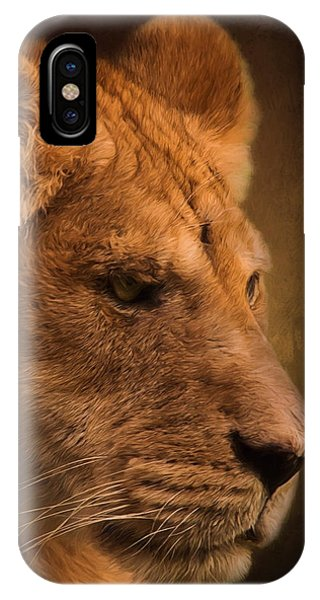 I Promise - Lion Art IPhone Case