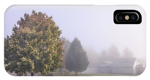 Morning Mist iPhone Case - I Scent The Morning Air by Evelina Kremsdorf