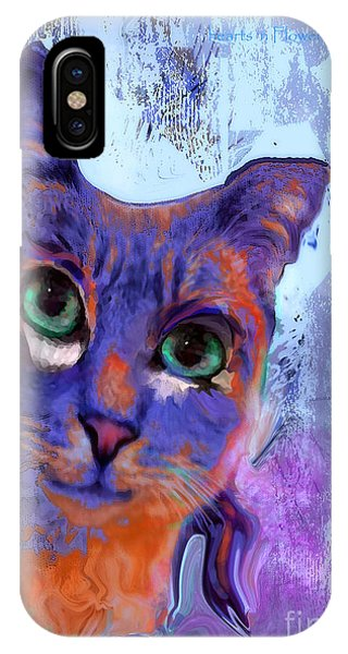 I See You Cat IPhone Case