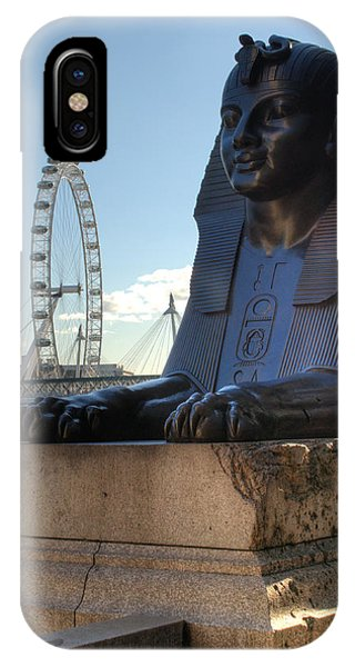 iPhone Case - I Sphinx It Is The London Eye by Chris Day