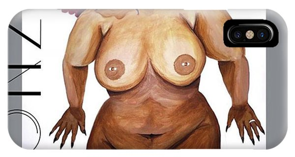 Nudes iPhone Case - I Think I'm Finished Lol #thickgirls by AGONZA Art