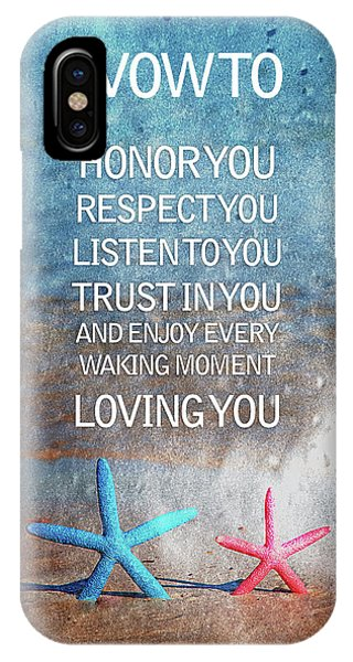 I Love You iPhone Case - I Vow To... by Az Jackson