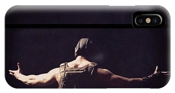 Superhero iPhone Case - I Want This Framed! #bane #batman by Georgina Hassan