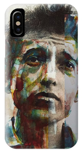 Bob Dylan iPhone Case - I Want You  by Paul Lovering