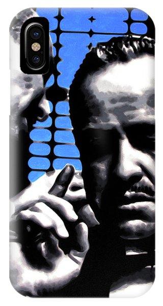 Robert De Niro iPhone Case - I Want You To Kill Him by Hood aka Ludzska