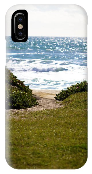 I Will Follow - Ocean Photography IPhone Case