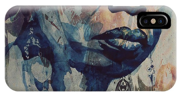 Rhythm And Blues iPhone Case - I Wish I Knew How It Would Be  Feel To Be Free by Paul Lovering