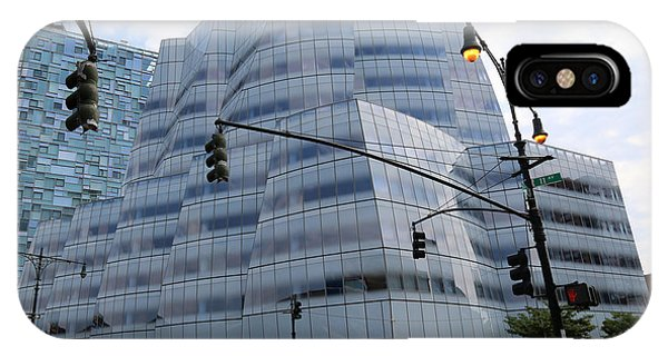 Iac Building By Frank Gehry In Chelsea IPhone Case