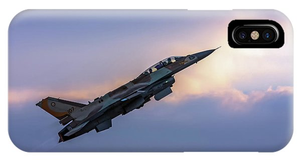 Iaf F-16i Sufa Nr. 107 IPhone Case