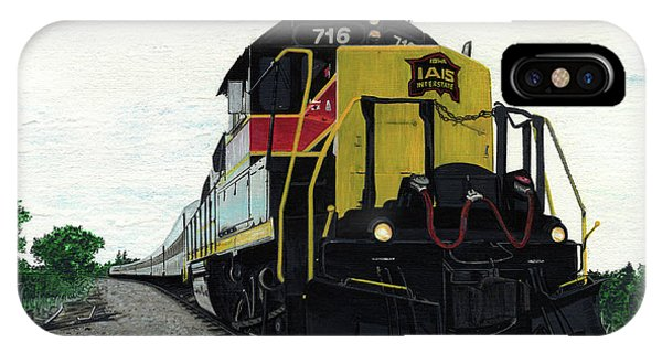 IPhone Case featuring the painting Iais716 by Jason Girard