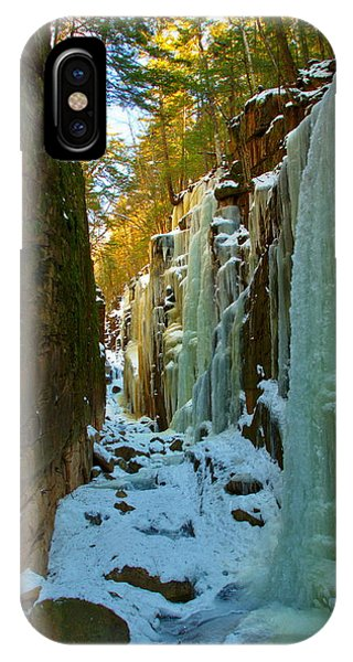 Ice At The Flume IPhone Case