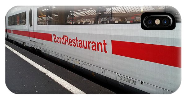 Ice Bord Restaurant At Zurich Mainstation IPhone Case