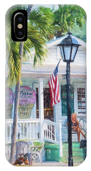 Ice Cream In Key West IPhone Case