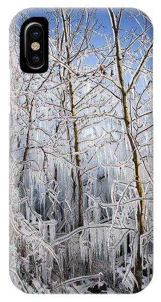 Ice Curtain IPhone Case