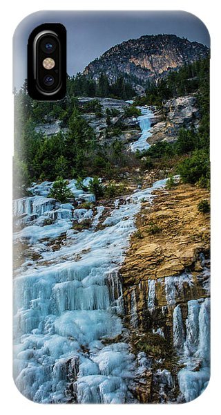 Ice Fall IPhone Case