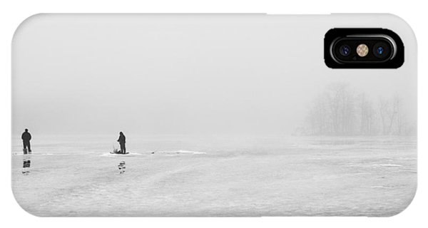 Ice Fishermen IPhone Case