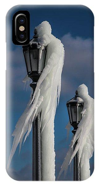 Ice Lamp Ladies IPhone Case