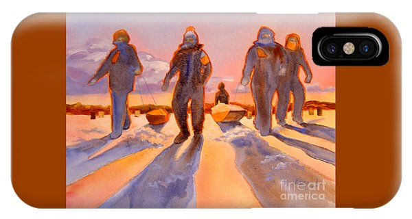 Ice Men Come Home IPhone Case