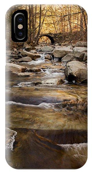 Ice On Stickney Brook IPhone Case