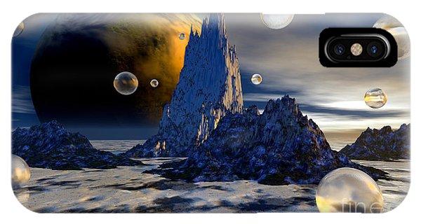 Ice Planet Phone Case by Sandra Bauser Digital Art