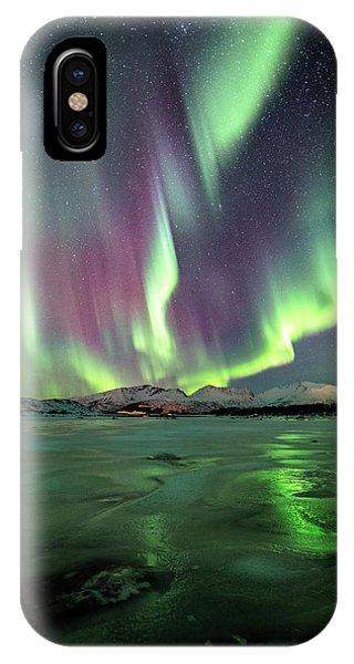 Ice Reflection II IPhone Case