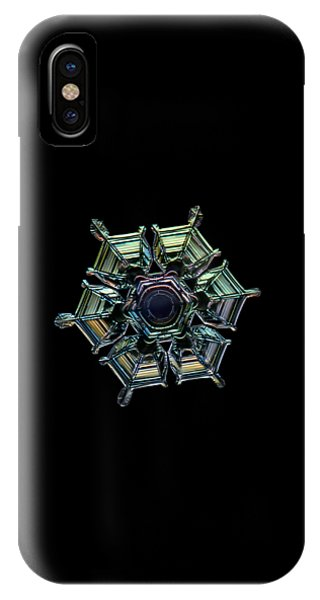 Ice Relief, Black Version IPhone Case