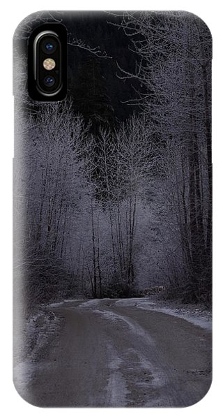 Ice Road IPhone Case