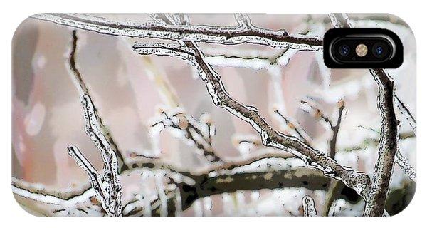 Ice Storm Ice IPhone Case