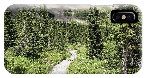 Iceberg Lake Trail Forest IPhone Case