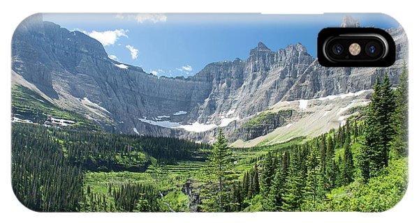 Iceberg Lake Trail - Glacier National Park IPhone Case
