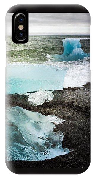 Cool iPhone Case - Iceberg Pieces Jokulsarlon Iceland by Matthias Hauser