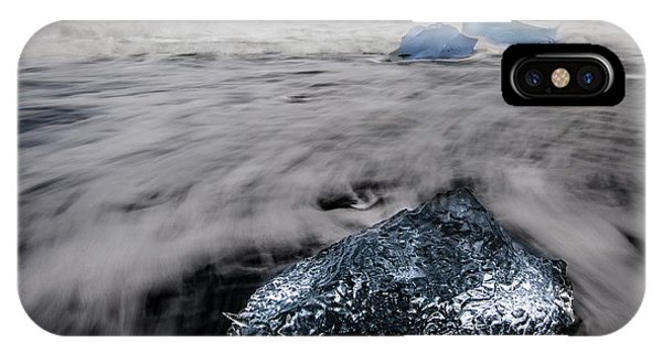IPhone Case featuring the photograph Iceberg Remnant by Rikk Flohr