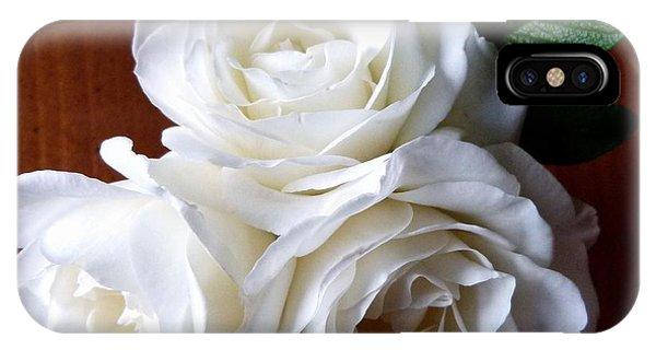 Iceberg Rose Trio IPhone Case