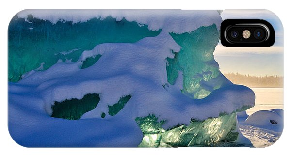 Iceberg's Glow - Mendenhall Glacier IPhone Case