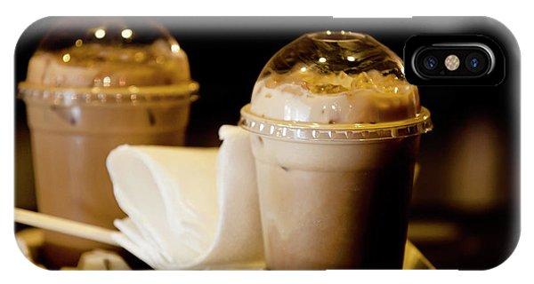 Iced Caramel Coffee IPhone Case